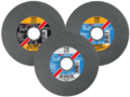 Disc wheels for cutting